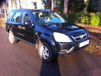 HONDA CR-V SE VTEC 2.0 SPORT, 5 SPEED MANUAL, FULLY LOADED, MOT EXPIRED, SPARES OR REPAIR, BARGAIN
