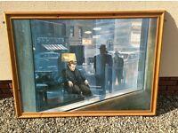 """Large"" James Dean Print & Fame - H110cm W150cm"
