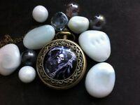 Pocket Watch with Skeleton Skull Photo