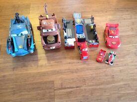 Lightning McQueen and friends