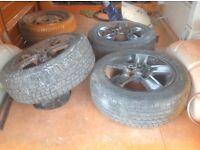 T4 alloy wheels