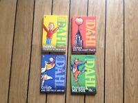 New Roald Dahl books x 4