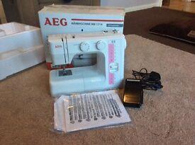 AEG SEWING MACHINE
