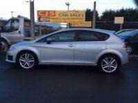 Seat Leon FR 2.0 tdi diesel 170 2012 one owner 70000 fsh ful year mot mint car fully serviced may px