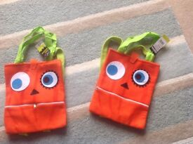 Halloween trick or treat bags (brand new)