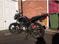 Kymco Pulsar S, 125cc, learner legal, 11mnths MOT, just serviced, good reliable runner.