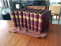 Antique complete set of 8 vols.1903 of The Modern Cyclopedia