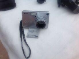 Pentax Optio S Camera