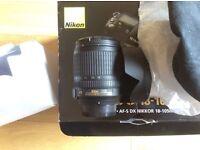 Nikon AF-S DX Nikkor 18-105mm f/3.5-5.6G ED VR £110