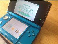 Nintendo 3DS. Aqua Marine