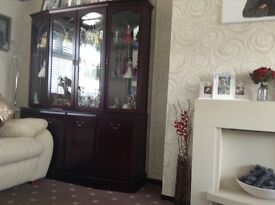 Morris of Glasgow Display Unit (5ft) Mirrored Back Display Unit Immaculate Condition
