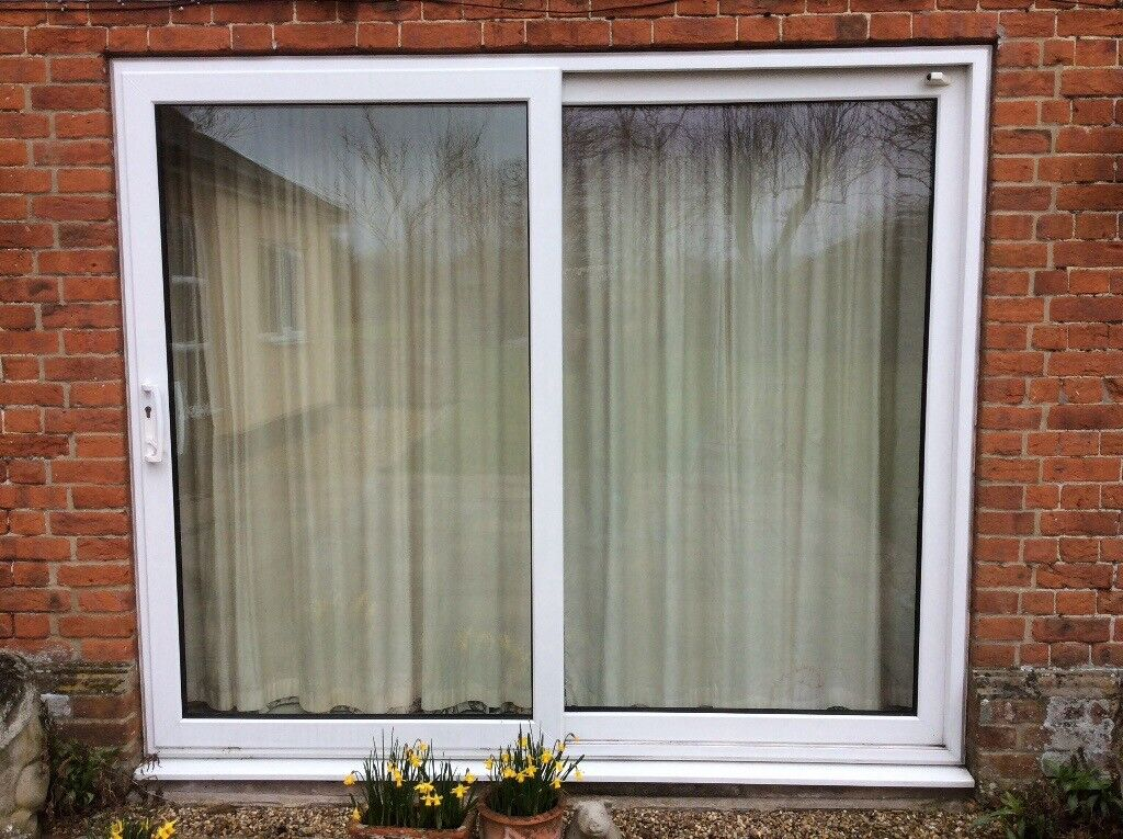 Second Hand Double Glazed Upvc Patio Doors