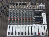 BEHRINGER 12 CHANNEL EFFECTS MIXER
