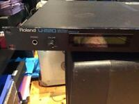 Roland U220 Synth Sound Module. Excellent opportunity