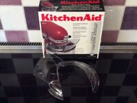 Kitchen aid mixer bowl shield