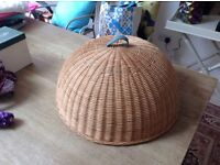 Large Wicker food cover. Conran at M & S