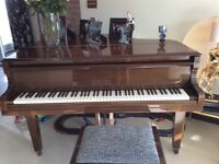 Marshall and Rose baby grand piano