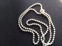 Pearl Necklace 28inches