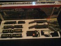 Hornby train set,queen of scots train set,hornby queen of scots,model railway set,