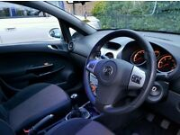 Vauxhall corsa 1.4 silver colour 4 parts