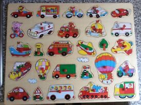 Toddler wooden puzzle
