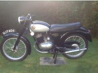 Francis Barnett 150cc Classic/Collectors/Vintage Motorcycle (not James/BSA etc)