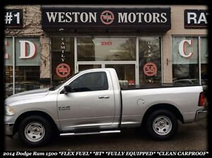 2014 Dodge Ram 1500 SLT* SPORT* FLEX FUEL* BLUETOOTH* BEAUTIFUL