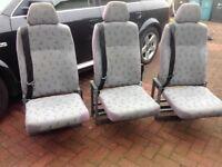 Volkswagen transporter t5 seats for sale