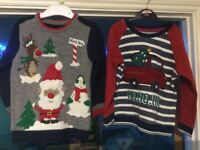 Aged 2-3 xmas jumpers x2 used once