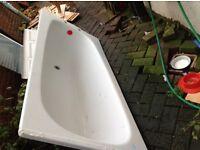 White Metal Bath FREE Free Free