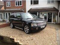 "Range Rover TD6, 22"" Alloys, TVs in headrests,"