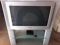 TV & Cabinet & Freeview box