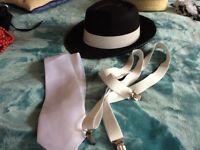 991097ae042 Gatsby style gangster hat