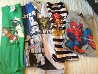 Boys t-shirts aged 7-8yrs
