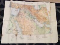 Persian Gulf WW2 map