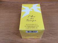 Brand New L'air Du Temps Nina Ricci shower gel 200ml