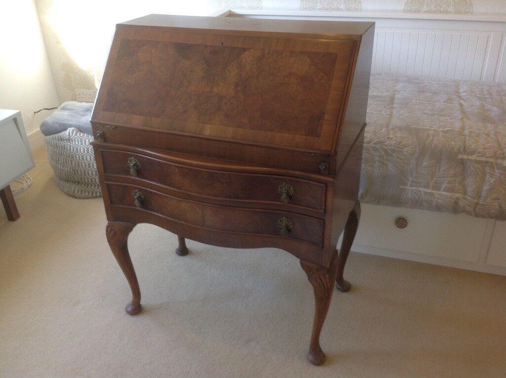 Vintage Writing Desk Bureau In Prestwick South Ayrshire Gumtree