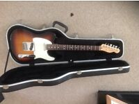 USA STANDARD FENDER TELECASTER FOR SALE+STAND AND CASE.