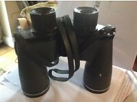 Solitel 8x4 prismatic hard coated field binoculars.