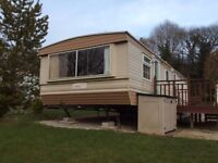 STATIC CARAVAN FOR SALE- FOR PRIVATE LAND- DOUBLE GLAZED- ONLY £2950!!