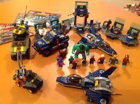 Lego Marvel Avengers sets and minifigures