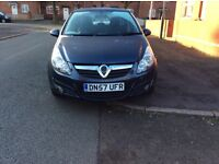VAUXHALL CORSA 1.2 SXI 5DR hatchback patrol manual 2007 full history 12 months mot miles 94000
