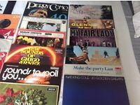 Selection vinyl LPs and singles- £5 the lot