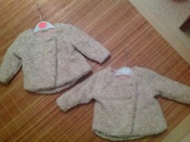 Girls baby jackets