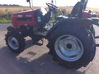 TYM TE40 4wd compact tractor