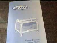 Top of the range Graco Travel Cot, ideal for grand parents.