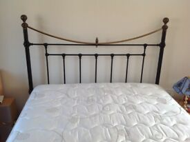 Double Bed frame + double mattress