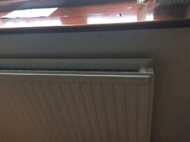 RADIATOR, 4FT, GOOD CONDITION, FREE. FREE. FREE
