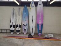 All boards are in good nick job lot for sale 5 boards 10 poles