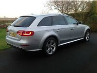 Audi A4 2.0 Tdi STronic 4X4 AllRoad Reg August 2014. £8,000 extras. 16,000 miles. One owner from new